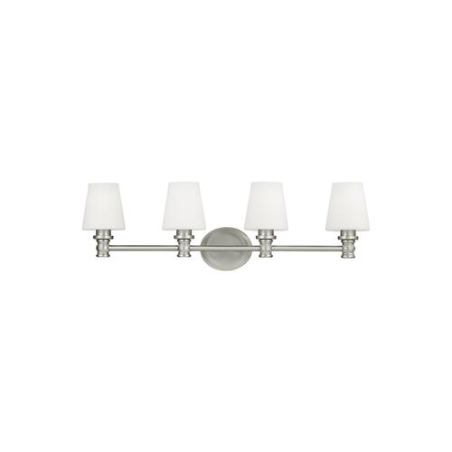 Xavierre 4 - Light Vanity Satin Nickel