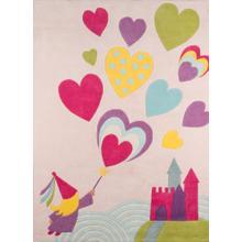Lil Mo Whimsy Fairy Princess Lmj-28 Pink - 2.0 x 3.0