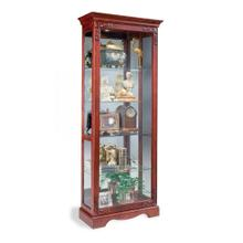 62182 ANDANTE TWO-WAY SLIDING DOOR CURIO CABINET