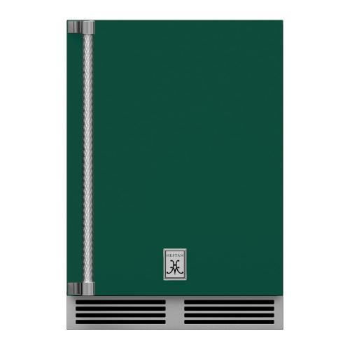 """24"""" Hestan Outdoor Undercounter Refrigerator (Solid Door) - GRSR Series - Grove"""