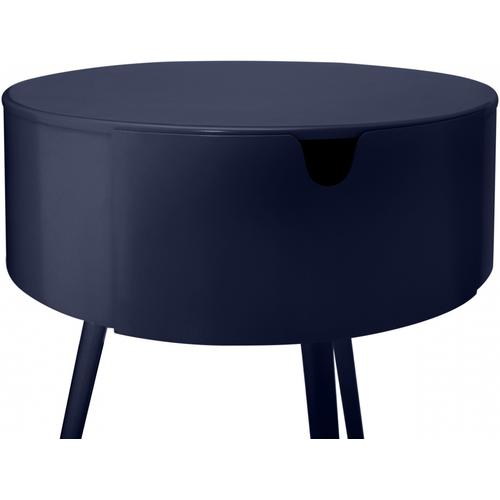 """Bali Side Table  Nightstand - 16"""" W x 16"""" D x 23"""" H"""