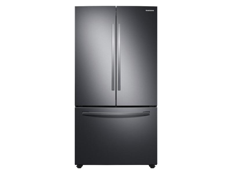 Samsung28 Cu. Ft. Large Capacity 3-Door French Door Refrigerator With Autofill Water Pitcher In Black Stainless Steel