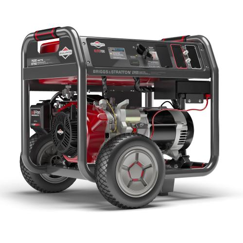 Briggs and Stratton - 7000 Watt Elite Series™ Portable Generator with CO Guard ® - Power your household essentials and more