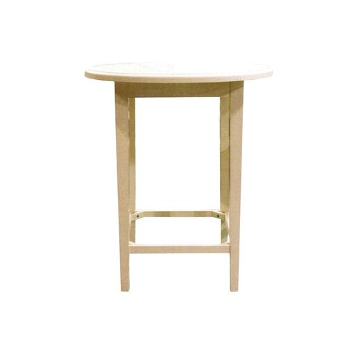 36'' Pub Table, Available in Cottage White Finish Only.