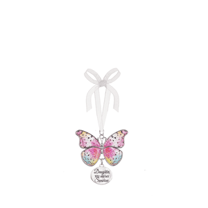 Blissful Journey Butterfly Ornament - Daughter, YOU ARE MY Sunshine