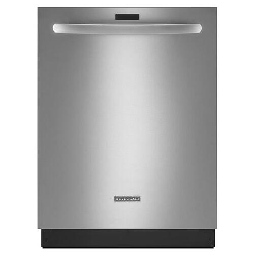 Gallery - KitchenAid® 24'' 5-Cycle/6-Option Dishwasher, Architect® Series II - Stainless Steel
