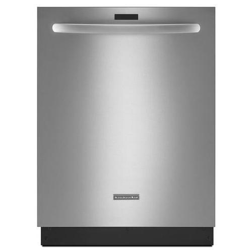 KitchenAid® 24'' 5-Cycle/6-Option Dishwasher, Architect® Series II - Stainless Steel