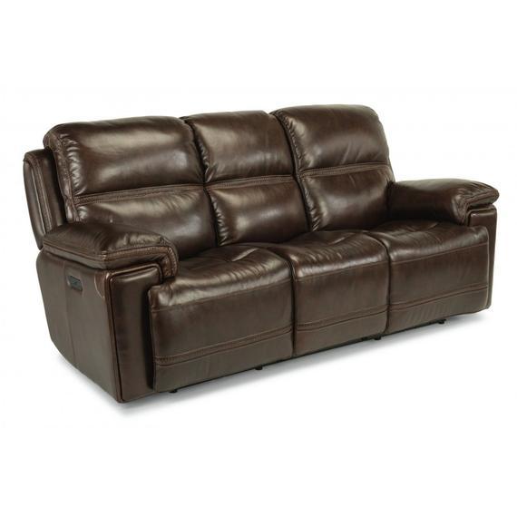 Fenwick Power Reclining Sofa with Power Headrests