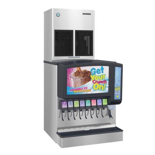 FS-1022MLJ-C with SRC-10H, Cubelet Icemaker, Remote-cooled, Serenity Series
