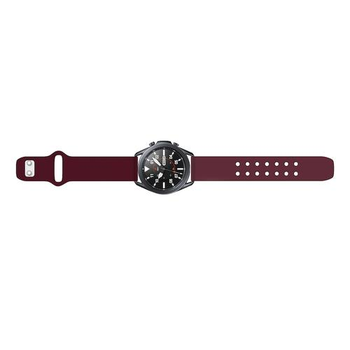 Quick Change Silicone Sport Watch Band (20mm) Maroon