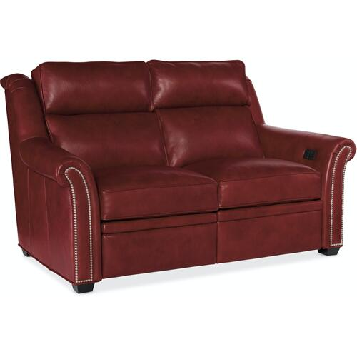 Bradington Young Robinson Loveseat L and R Full Recline w/Articulating Headrest - Two Pc Back 206-70-2