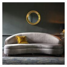 GA Sanza Sofa Grey Velvet