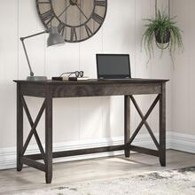 Key West 48W Writing Desk - Dark Gray Hickory