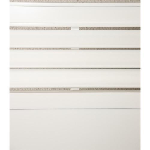Riverside - Talford Cotton - King/california King Louver Panel Headboard - Cotton Finish