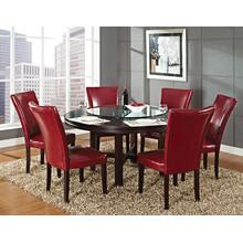 Hartford 62 inch table 7 Piece Set(Table & 6 Side Chairs)