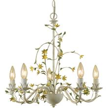 AF Lighting Grace Five-Light Star Flower Chandelier, 7046-5H