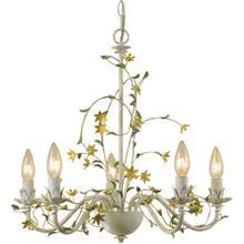 See Details - AF Lighting Grace Five-Light Star Flower Chandelier, 7046-5H