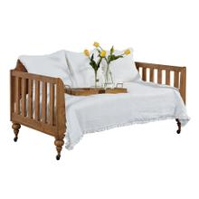 DAYBED, FRAMEWORK PANEL BENCH