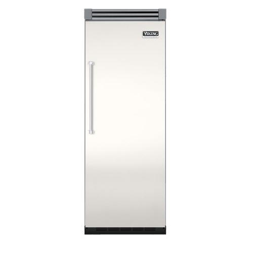 "Viking - Cotton White 30"" Quiet Cool™ All Refrigerator - VIRB Tru-Flush™ (Right Hinge Door)"