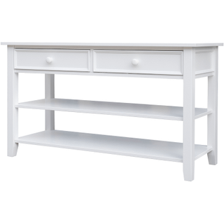 New Haven White Sofa Table