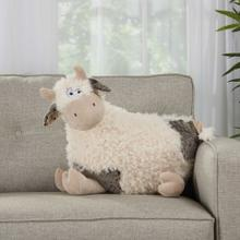 "Plushlines N1432 Ivory 1'2"" X 2' Plush Animal"