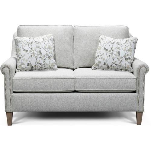 England Furniture - 9T06N Ella Loveseat with Nails