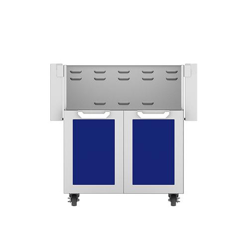 """Hestan - 30"""" Hestan Outdoor Tower Cart with Double Doors - GCD Series - Prince"""