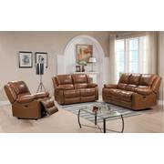 E32718 Piper Power Sofa Ileather 177136lv Peanut Product Image