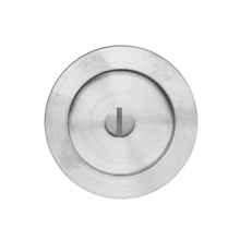 Round flush pull 65 with emergency release, Antique Brass Dark