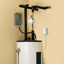 MyGuard Automatic Hot Water Heater Shut Off System by RCA