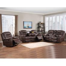 Stetson 3-Piece Manual Motion Set (Sofa, Loveseat & Recliner)