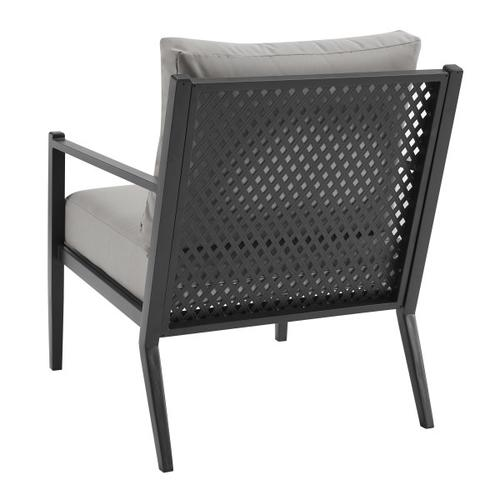 Metal Base Chairs in Black - 2pc (Component 2 of 2)