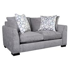 Waverly Loveseat in Gray Fabric