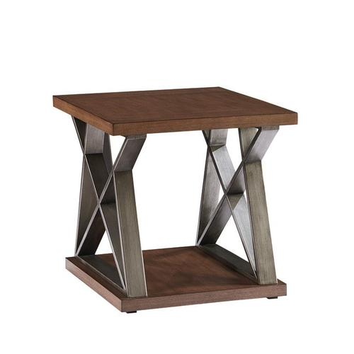 Cumberland End Table, Brown