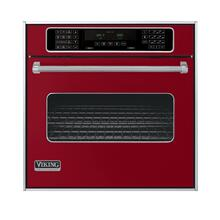 "Apple Red 30"" Single Electric Touch Control Premiere Oven - VESO (30"" Wide Single Electric Touch Control Premiere Oven)"