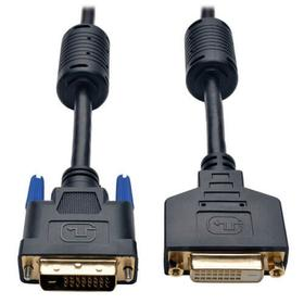 DVI Dual Link Extension Cable, Digital TMDS Monitor Cable (DVI-D M/F), 15 ft.