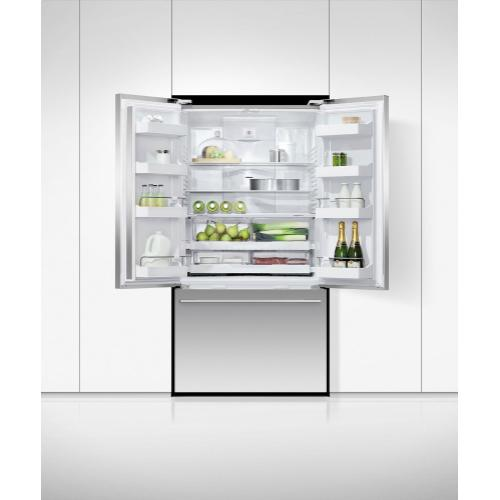 "Freestanding French Door Refrigerator Freezer, 36"", 20.1 cu ft"
