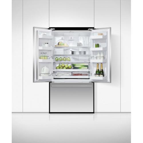"""Fisher & Paykel - Freestanding French Door Refrigerator Freezer, 36"""", 20.1 cu ft"""