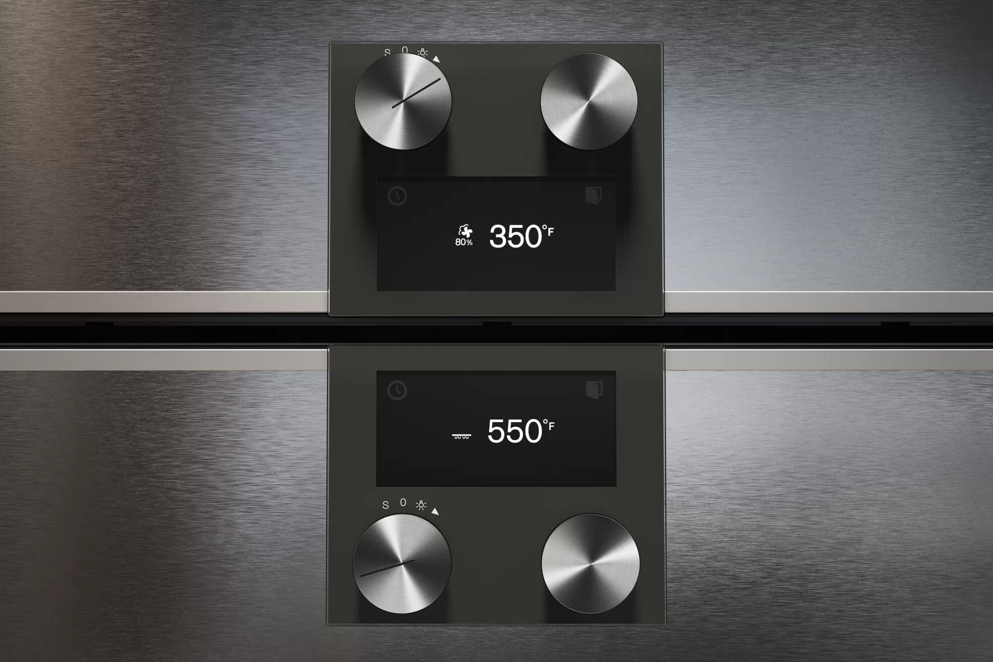 400 Series Combi-steam Oven 24'' Door Hinge: Right, Door Hinge: Right, Stainless Steel Behind Glass Photo #3