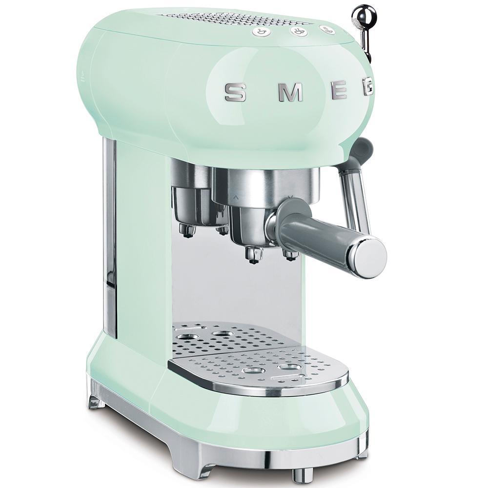 SmegEspresso Coffee Machine Pastel Green
