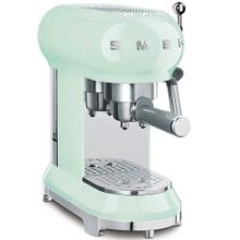 Smeg 50s Retro Style Design Aesthetic Espresso Coffee Machine, Pastel Green