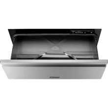 """See Details - 30"""" Flush Warming Drawer, Silver Stainless Steel"""