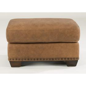 Fremont Leather Ottoman