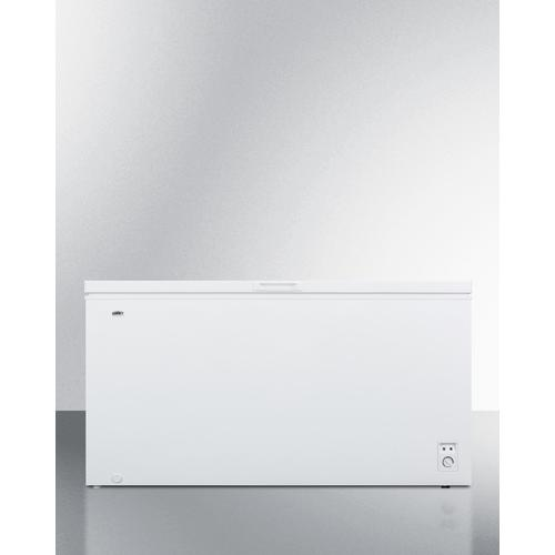 18 CU.FT. Residential Chest Freezer In White