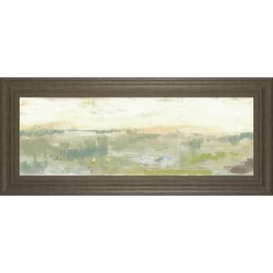 """Greenery Horizon Line II"" By Jennifer Goldberger Framed Print Wall Art"