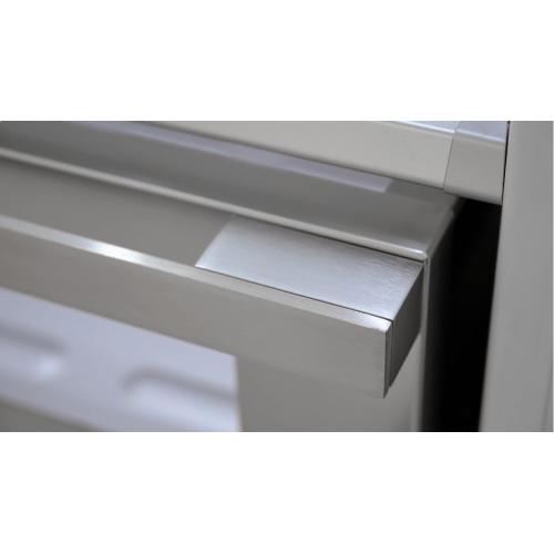 "Gallery - 36"" Sofia Pro Fridge - Left Hinge - Stainless Steel"