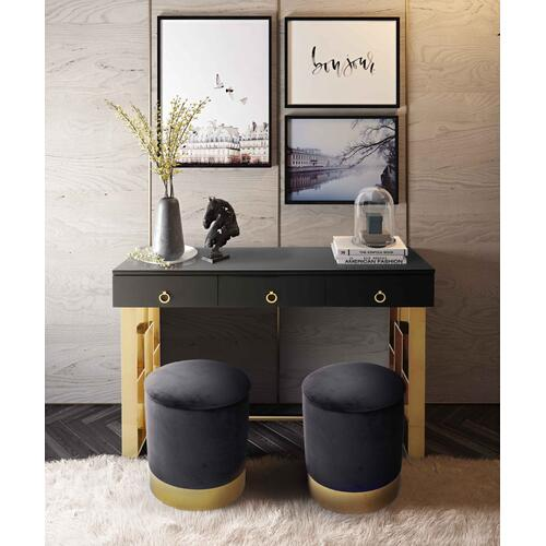 Tov Furniture - Pri Grey Storage Ottoman