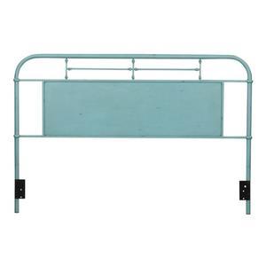 Liberty Furniture Industries - King Metal Headboard - Blue