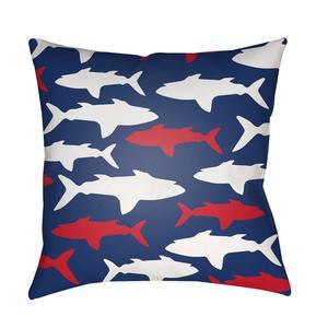 """Sharks LIL-076 18""""H x 18""""W"""