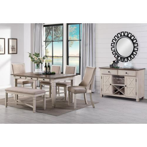 Prairie Point Side Chair in Cottage White